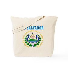 El Salvador Coat Of Arms Designs Tote Bag