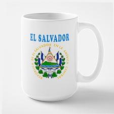 El Salvador Coat Of Arms Designs Mug