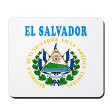 El Salvador Coat Of Arms Designs Mousepad