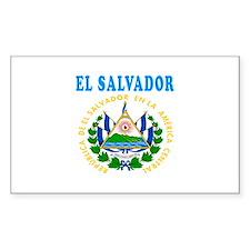 El Salvador Coat Of Arms Designs Decal