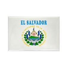 El Salvador Coat Of Arms Designs Rectangle Magnet
