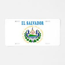 El Salvador Coat Of Arms Designs Aluminum License
