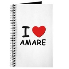 I love Amare Journal