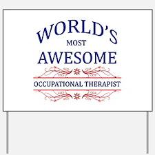 World's Most Awesome ICU Nurse Yard Sign