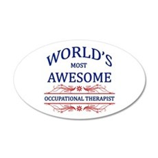 World's Most Awesome ICU Nurse Wall Decal
