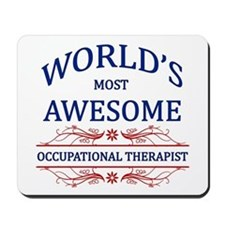 World's Most Awesome ICU Nurse Mousepad