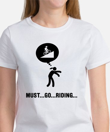 Mountain Biking Women's T-Shirt