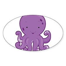 Baby Purple Octopus Decal