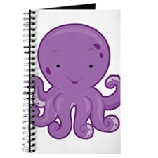Baby Purple Octopus Journal
