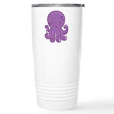 Baby Purple Octopus Travel Mug