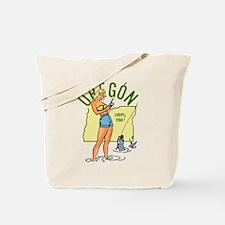 Oregon Pinup Tote Bag