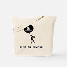 Long Jump Tote Bag