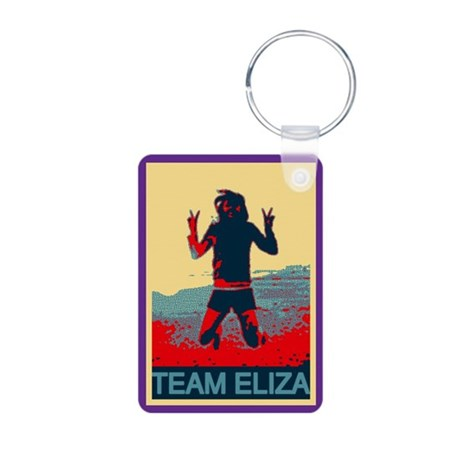 Team Eliza Aluminum Photo Keychain
