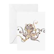 Fancy Octopus Greeting Card