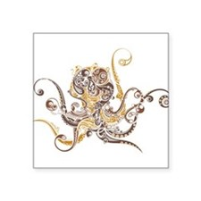 Fancy Octopus Sticker