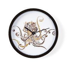 Fancy Octopus Wall Clock