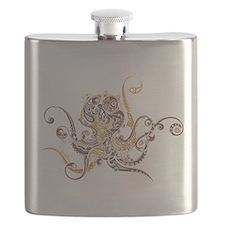 Fancy Octopus Flask