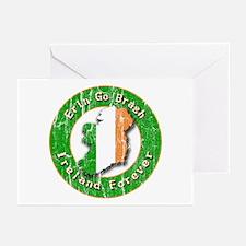 Erin Go Bragh Retro Irish Greeting Cards (Package