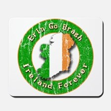 Erin Go Bragh Retro Irish Mousepad