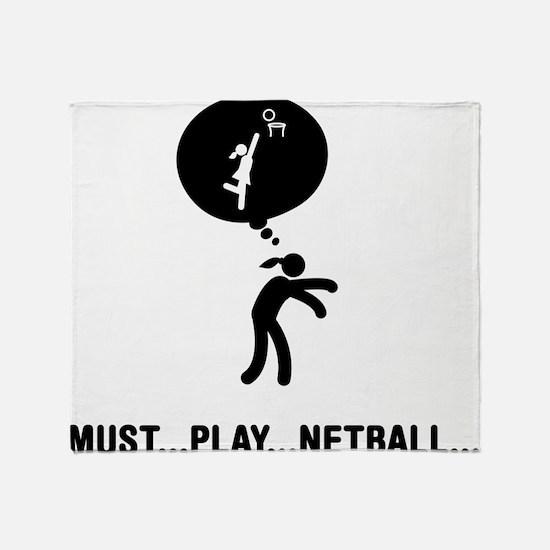 Netball Throw Blanket