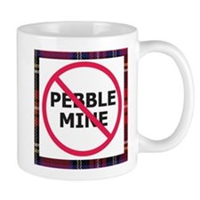 Nopebblemine Mug (Plaid)