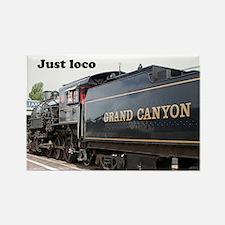Just loco: steam train engine, Arizona, USA 3 Rect