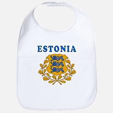 Estonia Coat Of Arms Designs Bib