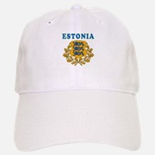 Estonia Coat Of Arms Designs Baseball Baseball Cap