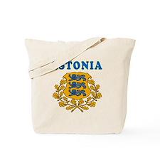 Estonia Coat Of Arms Designs Tote Bag