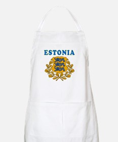 Estonia Coat Of Arms Designs Apron