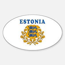 Estonia Coat Of Arms Designs Decal