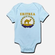 Eritrea Coat Of Arms Designs Infant Bodysuit