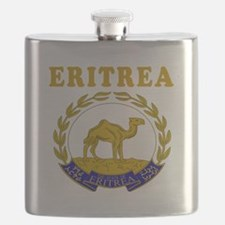 Eritrea Coat Of Arms Designs Flask