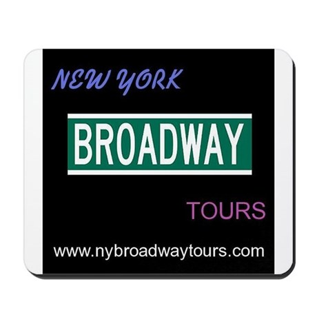 New York Broadway Tour LOGO Mousepad