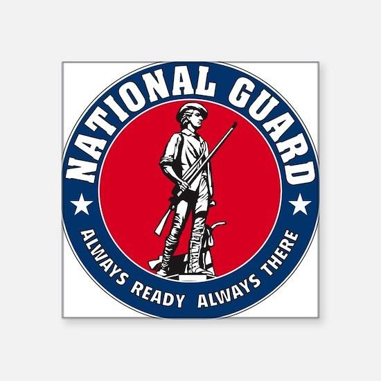 National Guard Logo Rectangle Sticker
