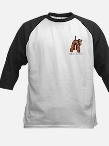 Welsh Terrier Talk Kids Baseball Jersey
