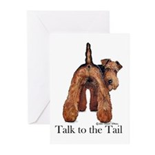 Welsh Terrier Talk Greeting Cards (Pk of 10)