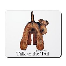 Welsh Terrier Talk Mousepad