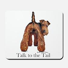 Welsh Terrier Talk Mousepad