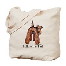 Welsh Terrier Talk Tote Bag