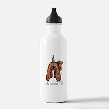 Welsh Terrier Talk Water Bottle