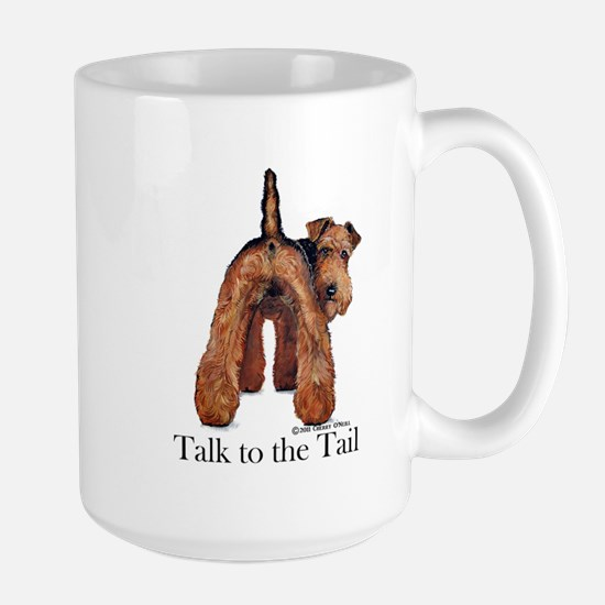 Welsh Terrier Talk Large Mug