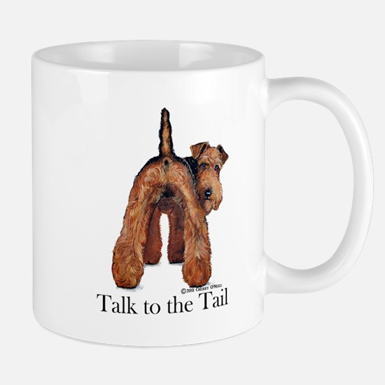 Welsh Terrier Talk Mug