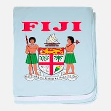 Fiji Coat Of Arms Designs baby blanket