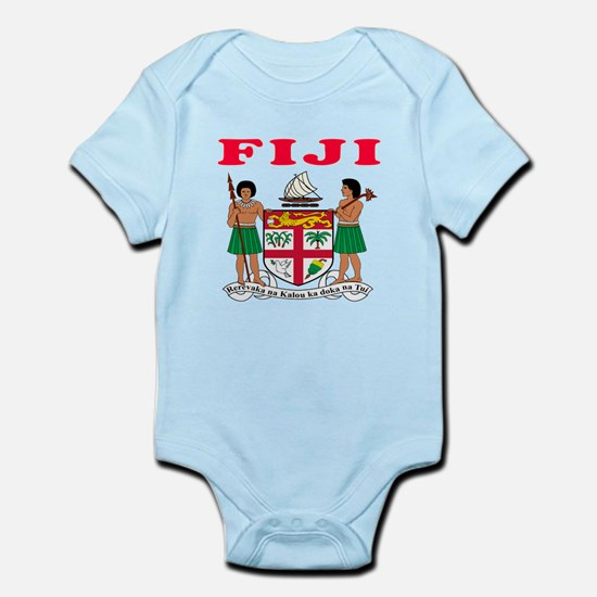 Fiji Coat Of Arms Designs Infant Bodysuit