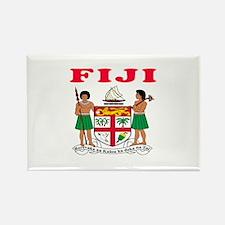 Fiji Coat Of Arms Designs Rectangle Magnet