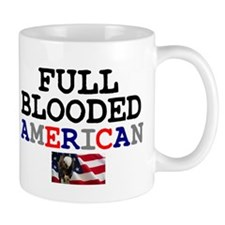 FULL BLOODED AMERICAN Small Mug