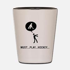 Field Hockey Shot Glass