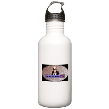 Uncle Sam Is Watching Water Bottle