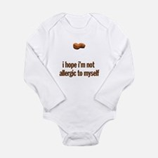 Peanut Allergy Baby Clothes Body Suit